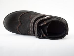 "Ортопедические демисезонные ботинки 401-8-М ( ТМ ""Zdrava Obuvka"" Украина)"